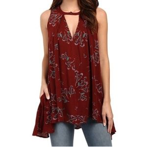 Free People Swing Floral Tunic